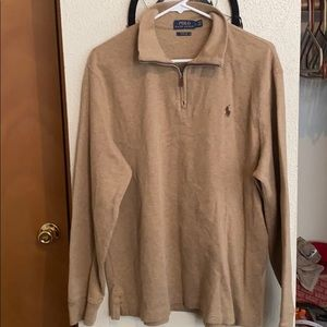 Men's Polo Half Zip